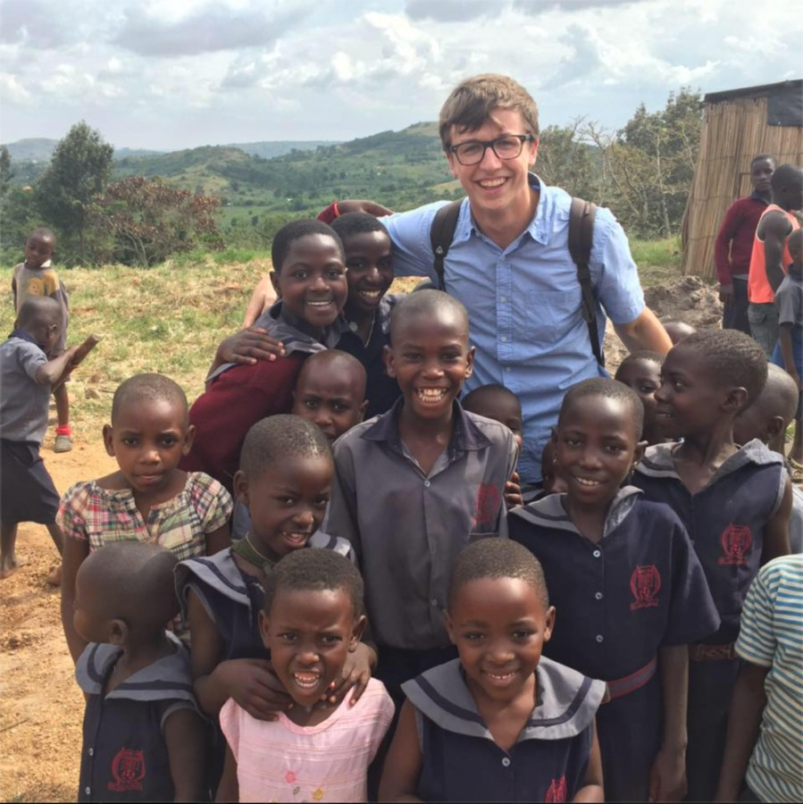 After+a+trip+to+Uganda%2C+sophomore+Keegan+Roembke+fueled+his+energy+into+a+coffee+business+benefiting+the+Hope+for+Uganda+school+and+the+Defenders+of+Wildlife+Fund.