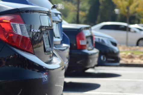 Students demand parking