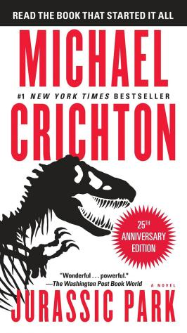 'Jurassic Park' novel deserving of own recognition