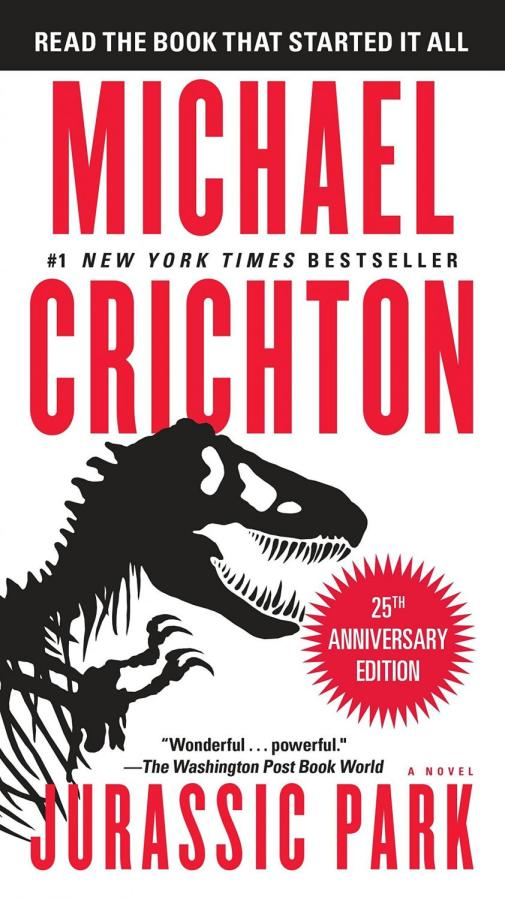 'Jurassic Park' novel deserving of own recognition