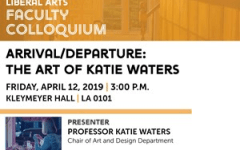 Katie Waters to present her artwork during her time with the university