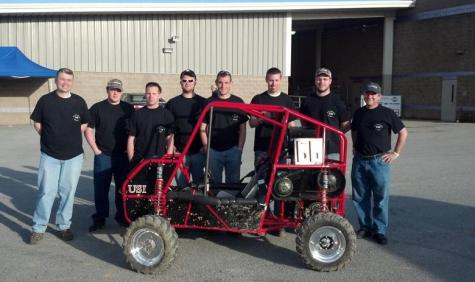 Unique experience: Engineering student build car from scratch