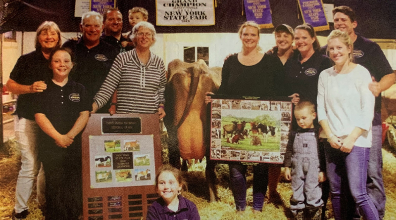 Silver Spring Farm Jerseys Featured in Hoard's Dairyman Judging Contest