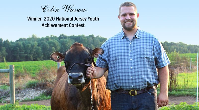 Wussow Wins 2020 National Jersey Youth Achievement Contest