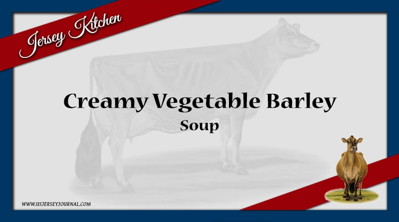 Creamy Vegetable Barley Soup