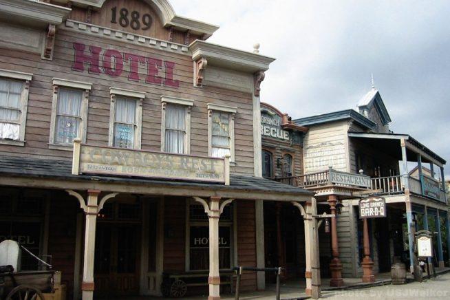 Western at Universal Studios Japan 2005