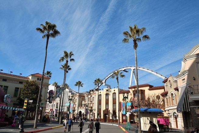 USJ ハリウッド大通りにて