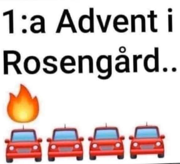 Första advent i Rosengård
