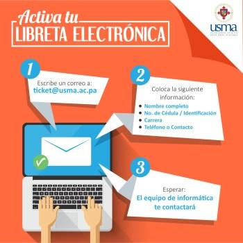 LIBRETA ELECTRONICA INSTAGRAM