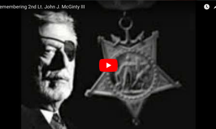 Remembering 2nd Lt. John J. McGinty III – Medal of Honor USMC