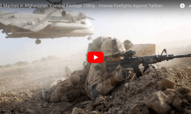US Marines in Afghanistan. Combat Footage Firefights Against Taliban