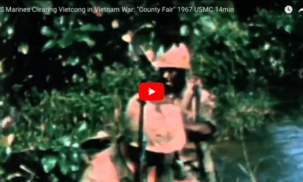"US Marines Clearing Vietcong in Vietnam War: ""County Fair"""