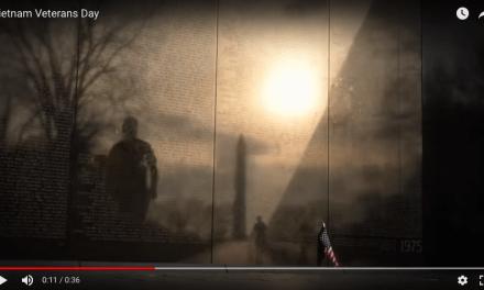 Vietnam Veterans Day 2018 Memorial Timelapse