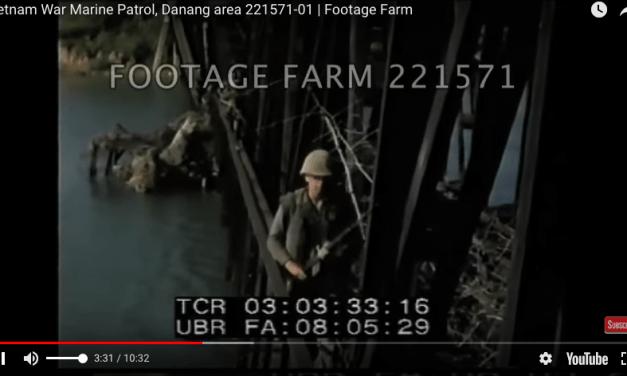 USMC in Vietnam – Marine Patrol, Danang area