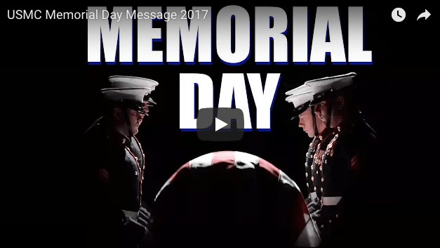 USMC Memorial Day Message