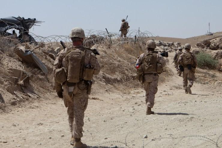 Afghanistan-Marines-Now-Zad Морская пехота США теряет опытных ветеранов
