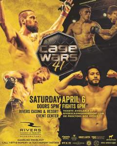 Cage Wars 41 @ Rivers Hotel & Casino