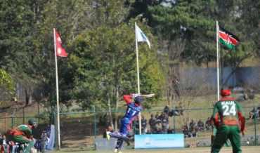 बिश्व क्रिकेट लिग:नेपाल ७ विकेटले विजयी