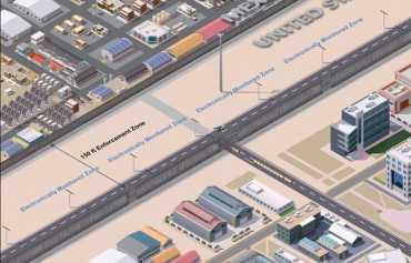मेक्सिकोसँगको सीमामा बनाइने पर्खालको नमूना तयार पार्न चार कम्पनी छनोट