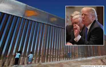 मेक्सिकोको सीमामा पर्खाल लगाउन राष्ट्रपति ट्रम्पको जोड