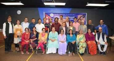 अन्तराष्ट्रिय नेपाली साहित्य समाज कोलोराडो च्याप्टरको पहिलो स्मारिका बिमोचन