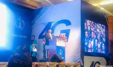 ५० भन्दा बढी सहरमा अब टेलिकमको 'फोरजी' सेवा