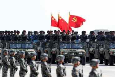 चीनले मनायो ७० औं वर्षगाँठ, बेइजिङमा सैनिकको परेड