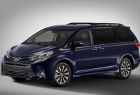 2019 Toyota Sienna Hybrid Rumors, Redesign, Release date