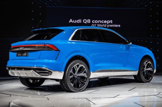 2020 Audi Q8 Back Side