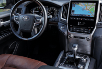 2020 Toyota Land Cruiser Interior