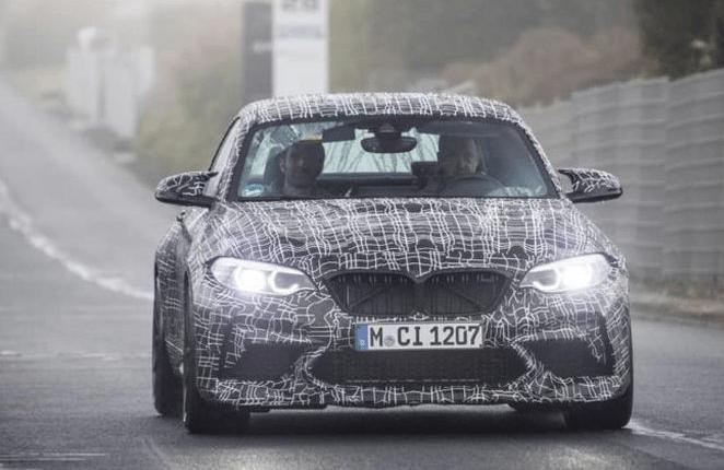 2021 BMW M2 Spy Photos