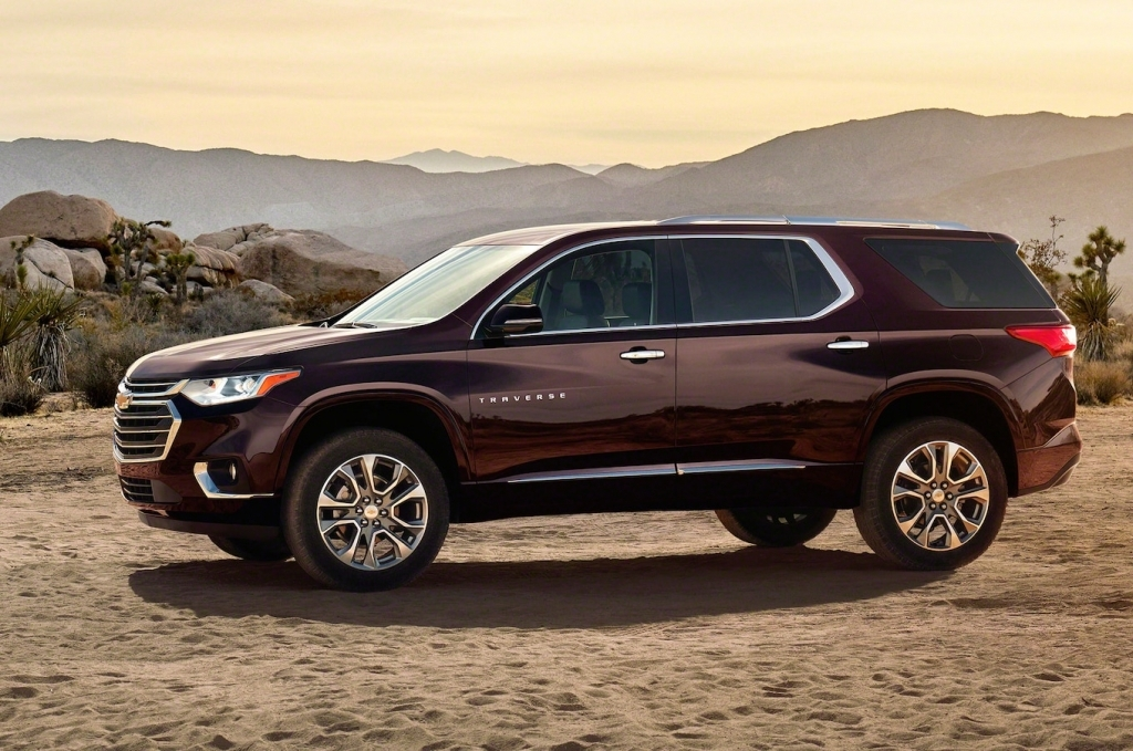 2021 Chevy Traverse Pictures