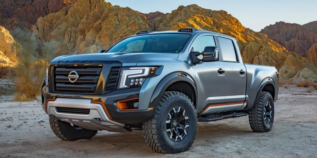 2021 Nissan Titan Warrior Pictures