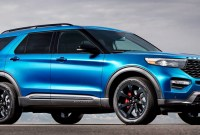 2021 Ford Explorer ST Drivetrain