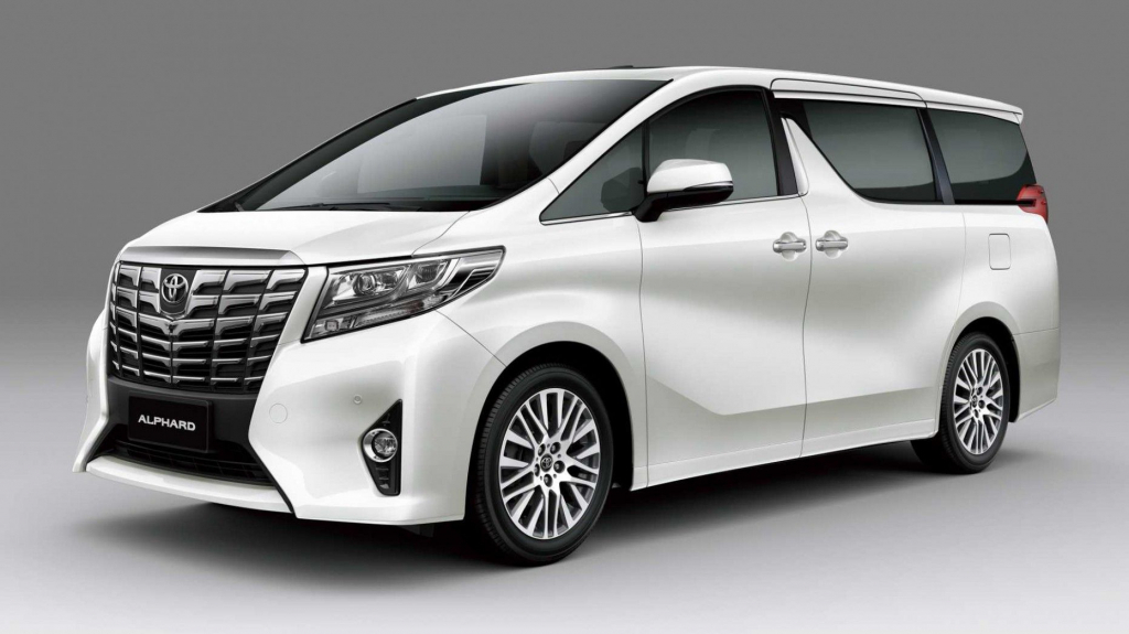 2021 Toyota Alphard Redesign