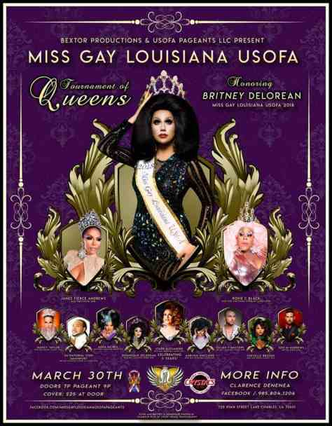 Miss Gay Louisiana USofA 2019
