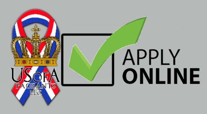 USofA Pageants Online Application
