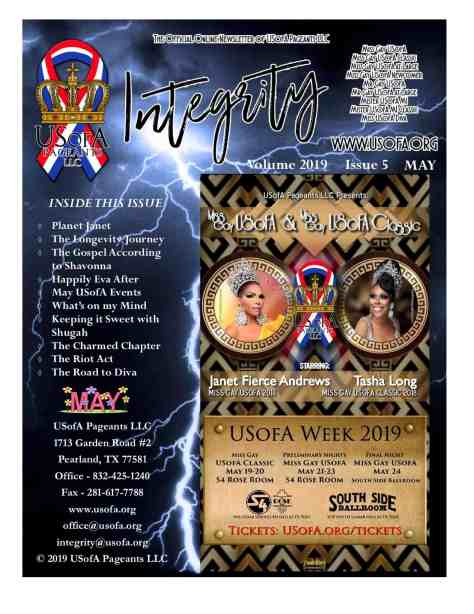 USofA Pageants Integrity Newsletter May 2019