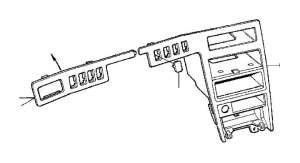 Volvo V90 Cap Genuine Classic Part Oak, Switches, Dashboard  9442755  Genuine Volvo Part