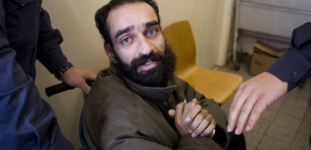 """Wednesday 2/20/13 9:00AM– 5:00PM EST After 211 days on hunger strike, the Israeli """"kangaroo"""" military court rejected the release of Palestinian hunger striker Samer Issawi today during his """"emergency"""" hearing...."""