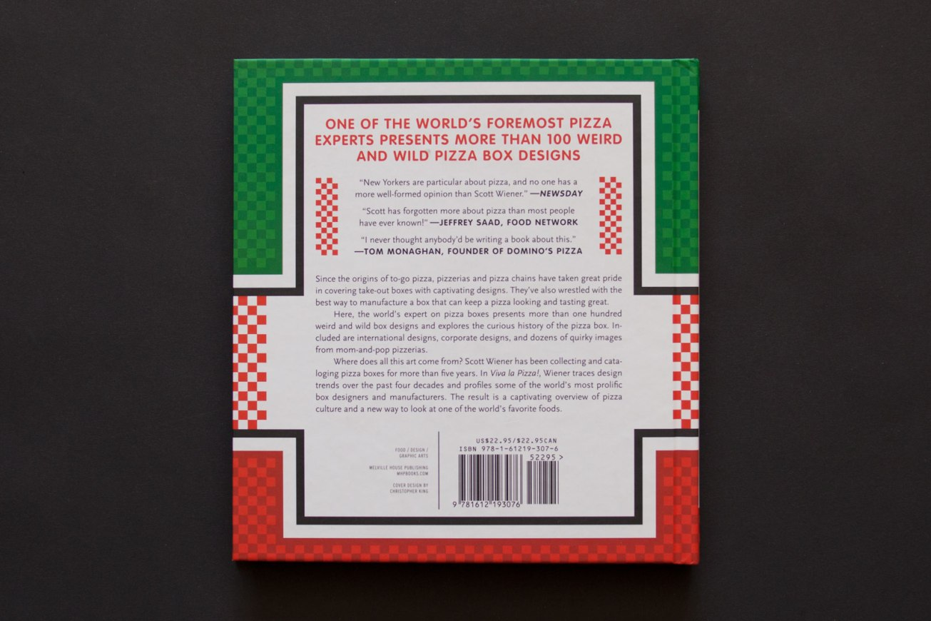 Viva la Pizza!: The Art of the Pizza Box by Scott Wiener