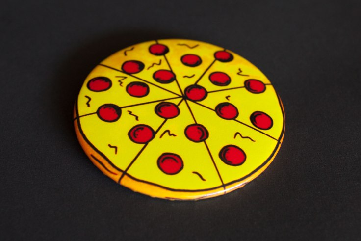 Jaime Knight Pizza Button