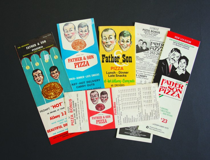 Vintage Father and Son Restaurant Menus