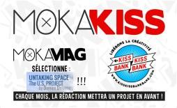 Untaking Space sélectionné par MokaMag et KissKissBankBank
