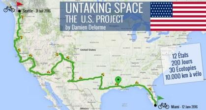 Untaking Space - Un parcours écotopique, Etape Louisiane
