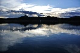 Chimney Rock National Monument, Crépuscule du soir (5)