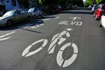 Berkeley Bike Boulevard