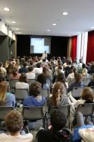Présentation à IIL devant un public nombreux