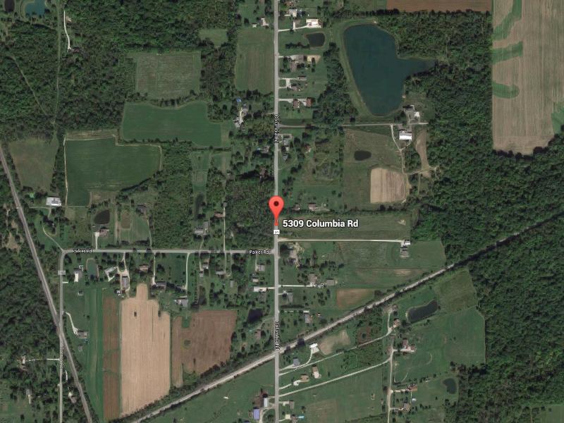Lake Map Ohio Chippewa
