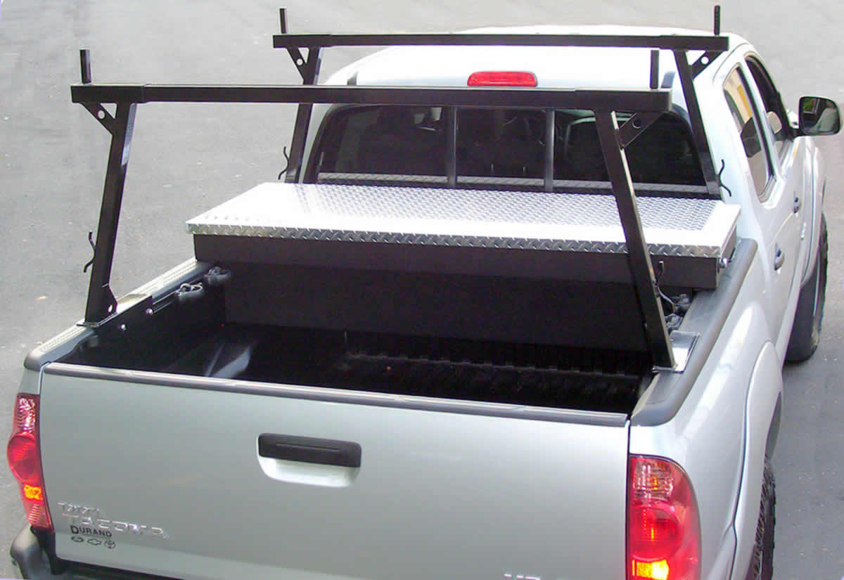 accessory rails in toyota and nissan trucks